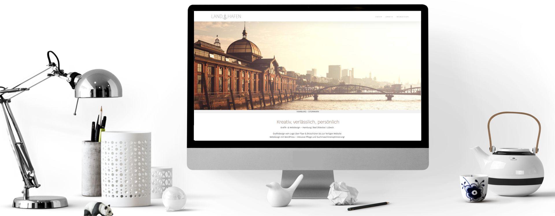 Responsive Webdesign | Grafik Studio Land & Hafen