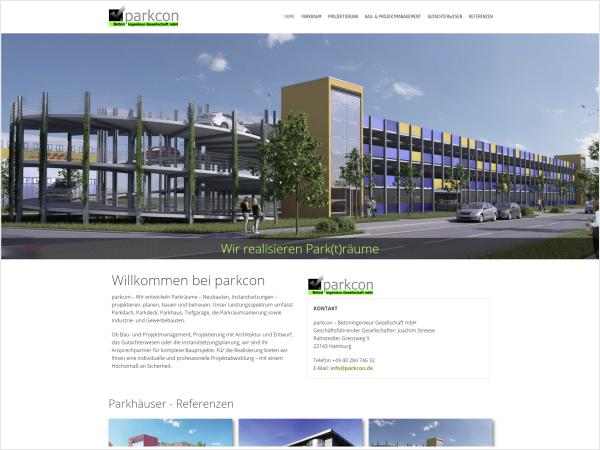 parkcon - Parkhaus Bau und Instandsetzung