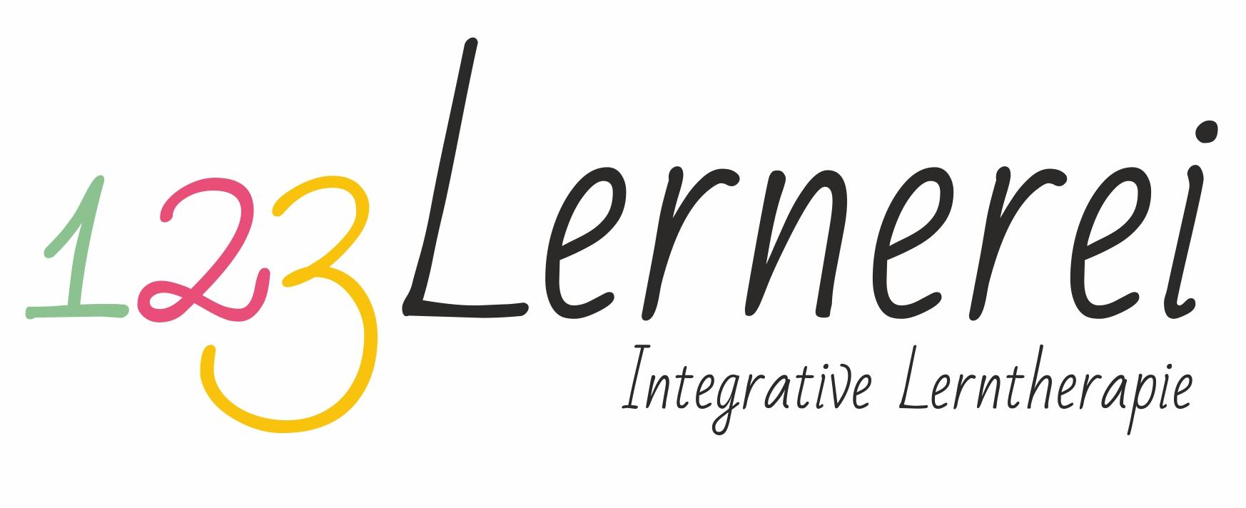 123 Lernerei - Logo für Lerntherapie - Monika Strontschek