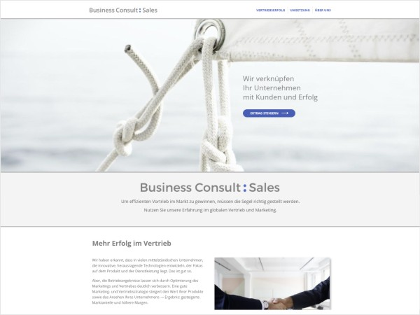 Webdesign Business Consult Sales