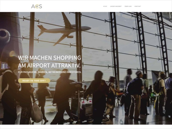 ACS - Airport Commercial Services - Webdesign Referenz