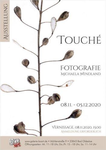 Plakat Design für Ausstellung Touché