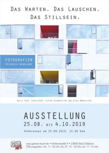 Plakat-Design Fotoausstellung